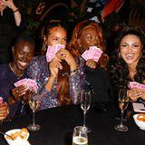 Wer sonst noch feiert: Aminata Sanogo und weitere Gäste beim UNO Charity Event