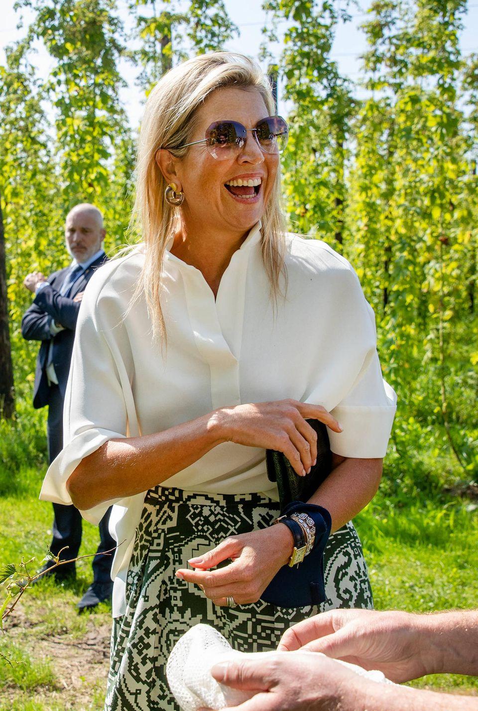 RTK: Königin Máxima besucht Brauerei Gulpener