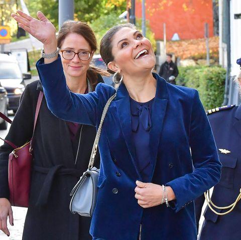 Lena Bartholdson und Prinzessin Victoria