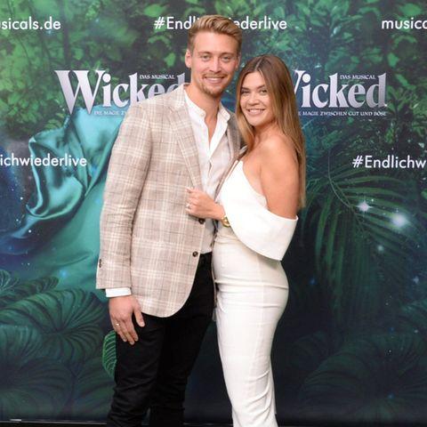 Nadine Klein und ihr Mann Tim Nicolas