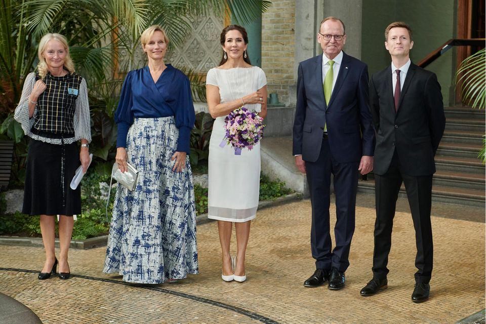 Prinzessin Mary bei der Verleihung des Forschungspreis 2021 des Carlsbergfonds in Kopenhagen.