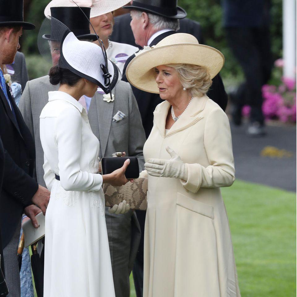 Herzogin Meghan und Herzogin Camilla