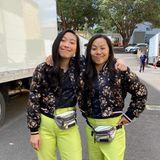 Stars und ihre Doubles: Awkwafina am Set von Shang Chi
