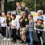 RTK: Prinz Frederik bei der Einweihung des Windparks mit Gästen