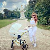 Kinderwagen der Stars: Georgina Fleur