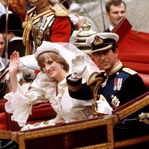 Bei ihrer Hochzeit 1982