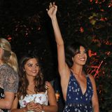 Wer sonst noch feiert: Jenna Coleman und Gala Gordon bei der ATG Sommerparty