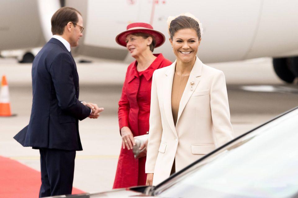 Besuch in Schweden: Kronprinzessin Victoria und Prinz Daniel empfangen ihren deutschen Besuch