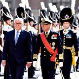 Schweden Royals: Frank-Walter Steinmeier mit König Carl-Gustaf in Stockholm