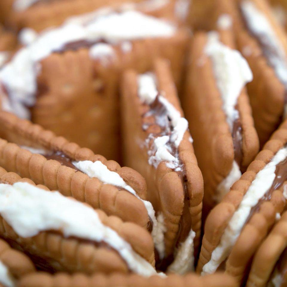 Nutella-Butterkeks-Kuchen