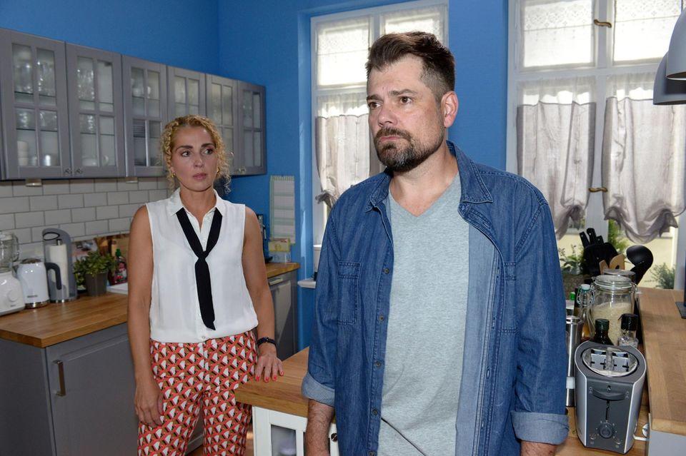 Nina (Maria Wedig), Leon (Daniel Fehlow)