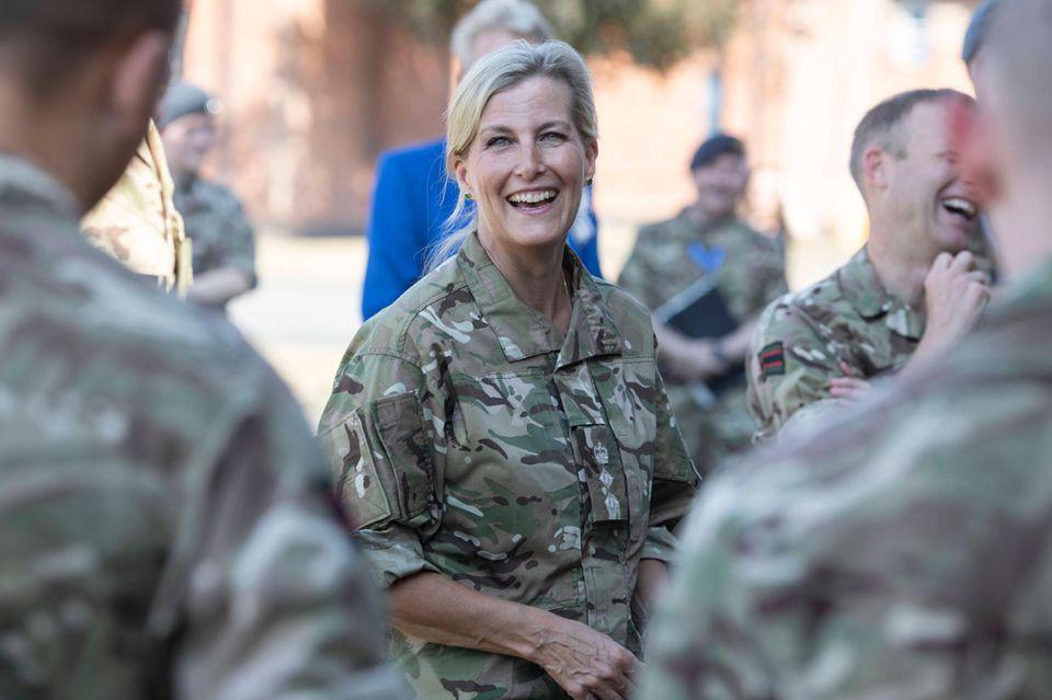 Royaler Terminkalender: Sophie von Wessex zu Besuch bei der Royal Air Force