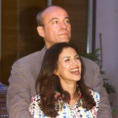Bund fürs Leben: Heiner und Viktoria Lauterbach im April 2001