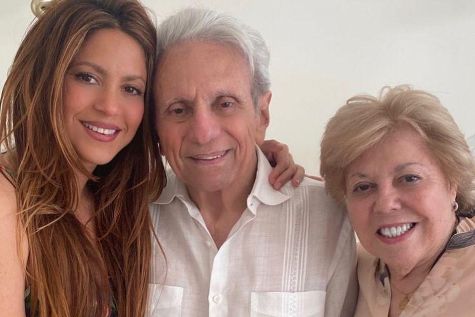 Papa ist der Beste: Shakira gratuliert ihrem Vater zum 90. Geburtstag