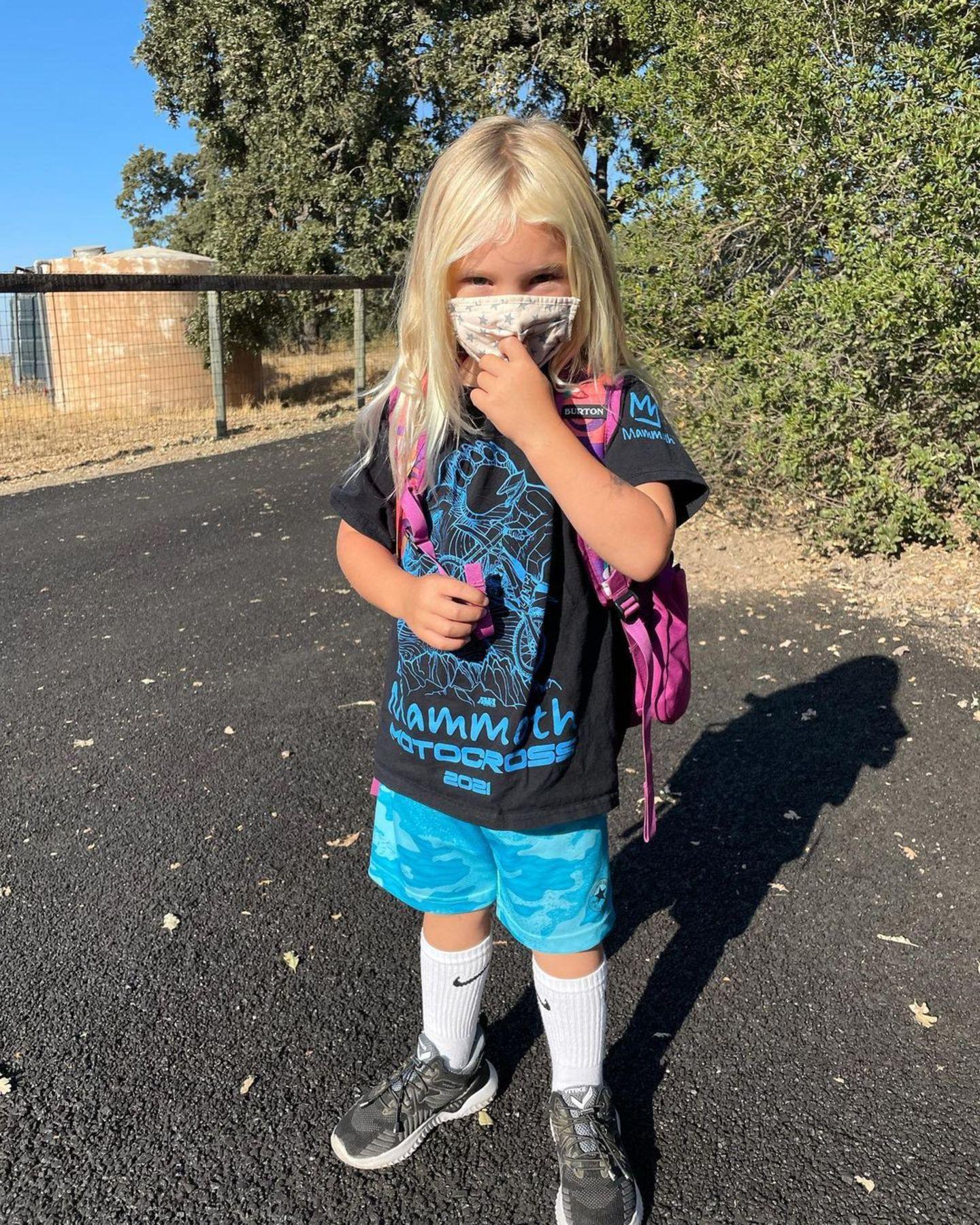Familie Pink: Sohn Jameson kommt in die Vorschule