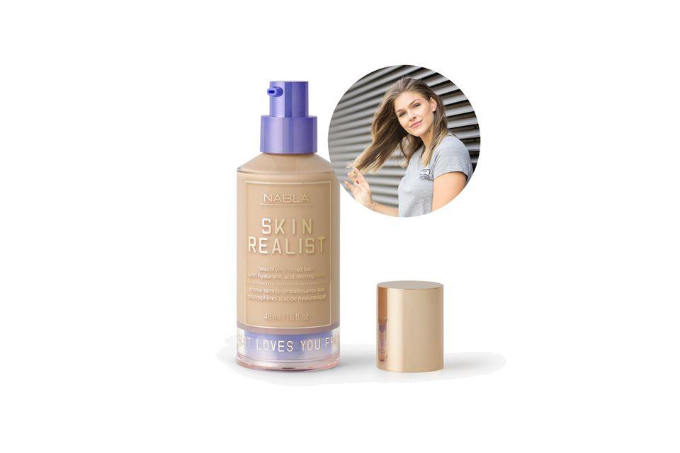 Für Mode- und Beauty-Redakteurin Friederike ist derNabla Cosmetics Skin Realist Tinted Balm die perfekte Base am Hochzeitstag.