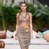 Vanessa Fuchs auf dem Laufsteg einer Show der New York Fashion Week.