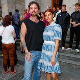 Diese Haare lassen sich einfach nicht übersehen. Romina Palm, die Verlobte von Stefano Zarella, ist ebenfalls Teil von Marcel OstertagsModel-Squad.
