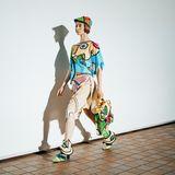 """Richtig ausgefallene Avantgarde-Styles bekommt man in Berlin bei der""""Neo.Fashion. Graduate Show"""" zu sehen. Ob Neoplastizistische Elemente, Pop-Art oder ..."""