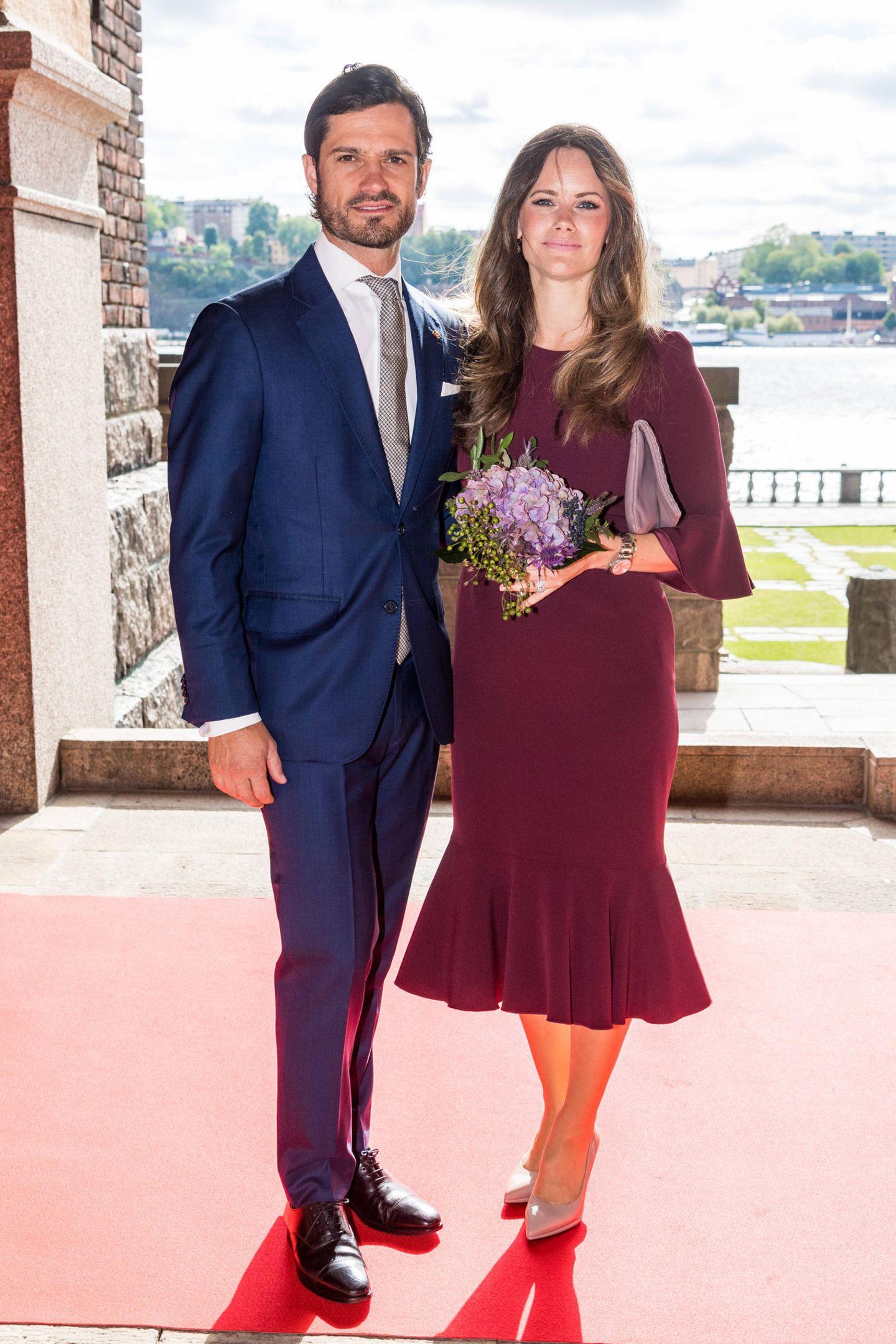 Besuch in Schweden: Prinz Carl Philip und Prinzessin Sofia von Schweden