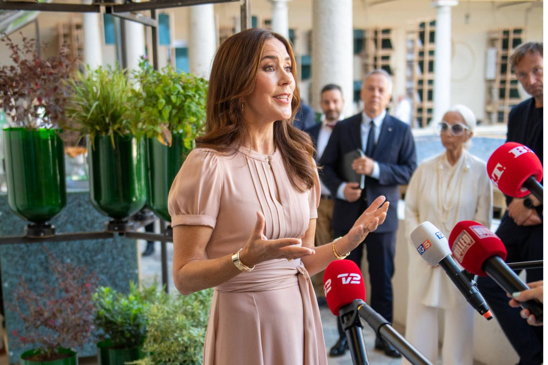 Prinzessin Mary beim Besuch der dänischen Ausstellung im Museo Nazionale Scienza e Tecnologia Leonardo Da Vinci während der Milan Design Week 2021.
