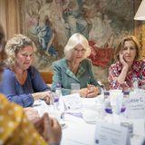 Windsor RTK: Herzogin Camilla bei der Podiumsdiskussion mit Frauen