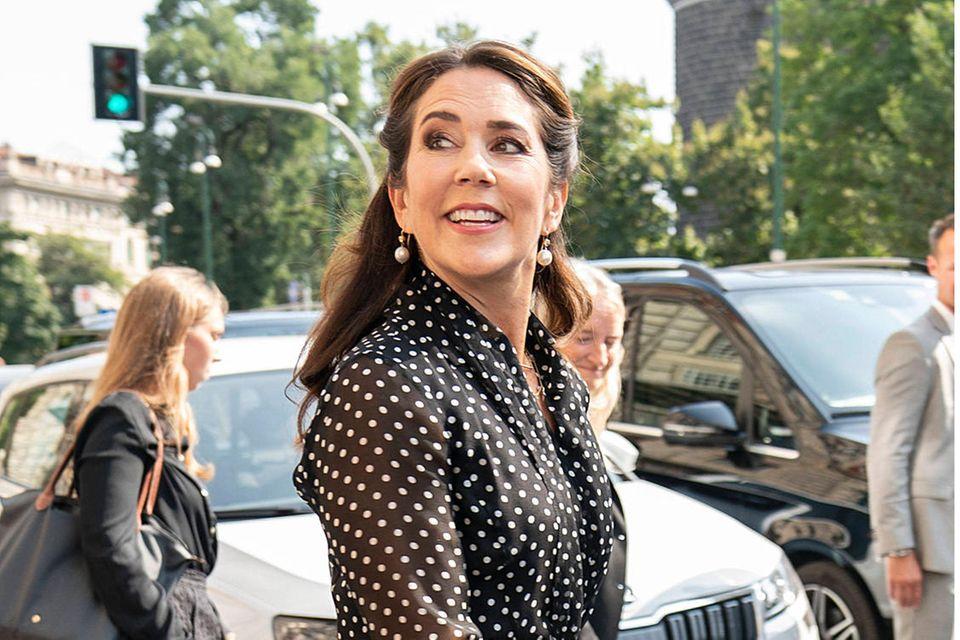 Polka Dots: Nicht nur Prinzessin Mary liebt den Pünktchen-Look
