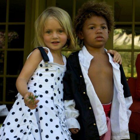 Familie Klum: Leni und Henry Klum als Kinder