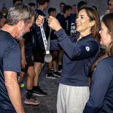 Royal Run: Prinzessin Mary übergibt Frederik seine Medaille