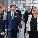 RTK: Carl Prinz Philip bei Provinzbesuch an der Technischen Hochschule