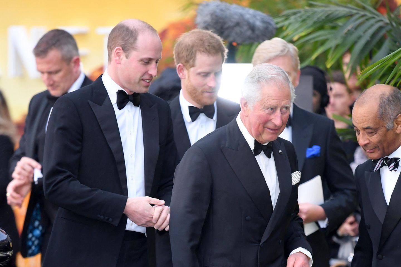 Prinz William, Prinz Harry + Prinz Charles