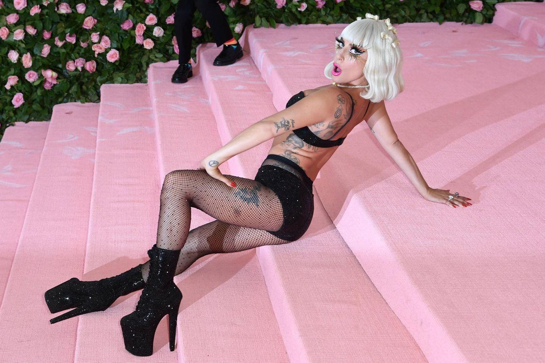 Lady Gaga bei der Met Gala im Jahr 2019.
