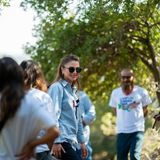 Königin Rania wandert entlang des Jordan Trail