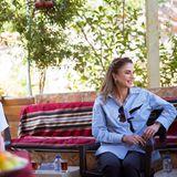Königin Rania: Rania wandert entlang des Jordan Trail