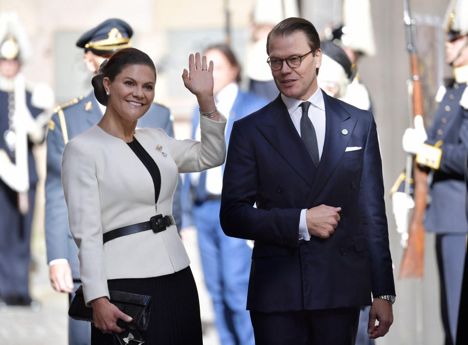 RTK: Prinzessin Victoria und Prinz Daniel bei der Parlamentseröffnung