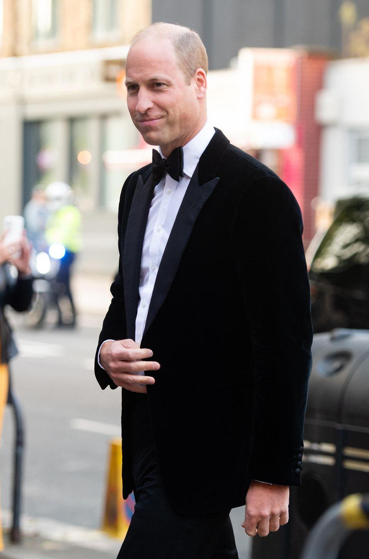 Windsor RTK: Prinz William, Ankunft bei Veranstaltung  in London