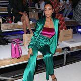 Verona Pooth besucht die Fashion-Show von Guido Maria Kretschmer