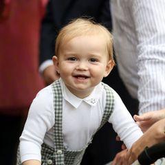 Ihre Liebe in Bildern: Prinz Charles von Luxemburg strahlt in die Kamera