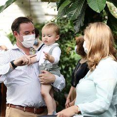 Ihre Liebe in Bildern: Die Royals von Luxemburg besuchen einen Schmetterlingsgarten