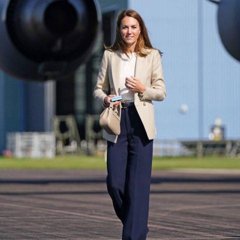 Windsor RTK: Herzogin Catherine bei ihrem ersten Besuch nach dem Sommerurlaub