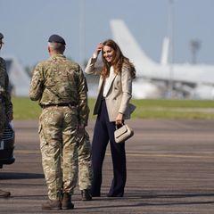Windsor RTK: Herzogin Kate beim Besuch des Luftwaffenstützpunktes