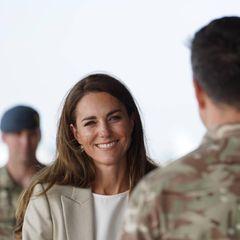 Windsor RTK: Herzogin Catherine unterhält sich mit Soldat