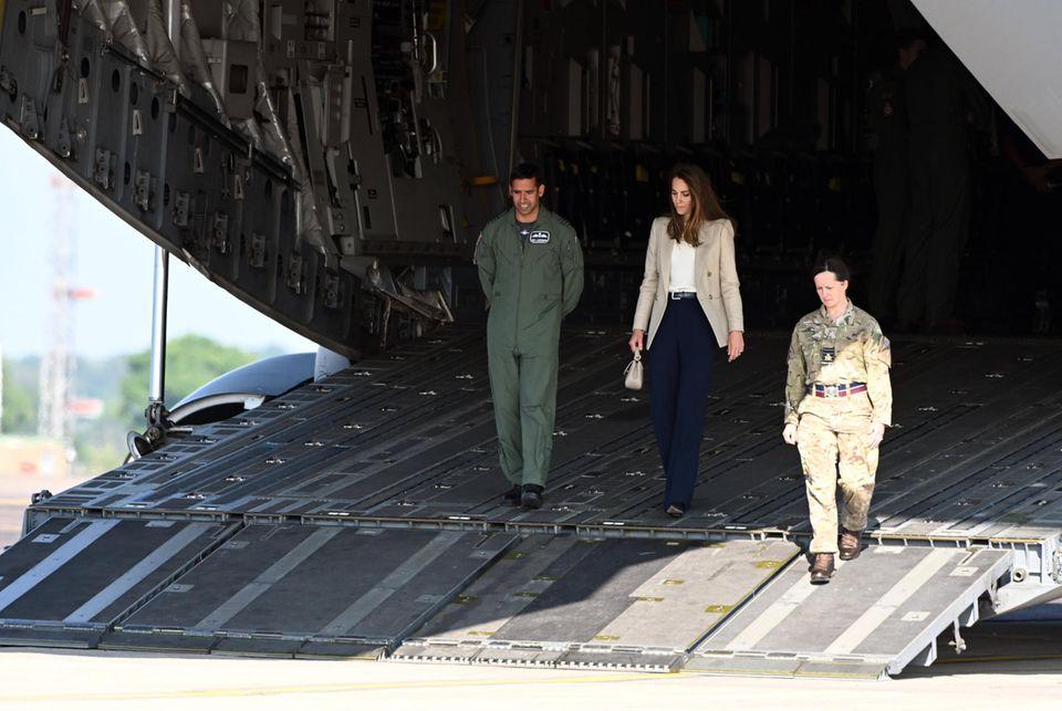 Windsor RTK: Herzogin Catherine dankt den Evakuierungshelfern