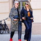 Frauke Ludowig und Petra van Bremen auf der About You Fashion Week