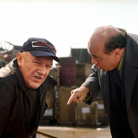 Joe Moore (Gene Hackman) und Mickey Bergman (Danny DeVito) liefern sich ein packendes Duell