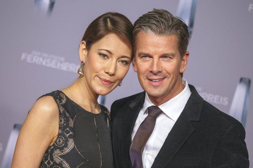 Angela Gessmann und Markus Lanz