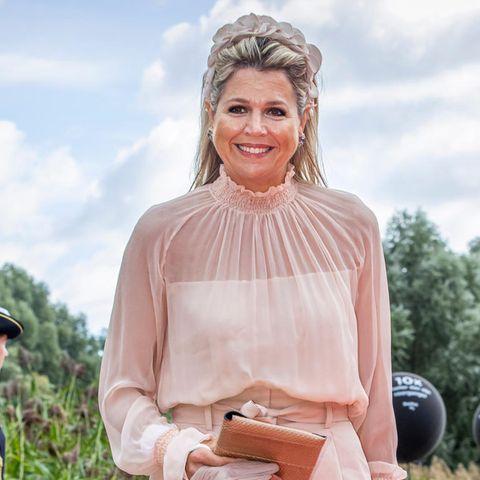 Königin Máxima: Sommerlicher Look versteckt unschönes Detail