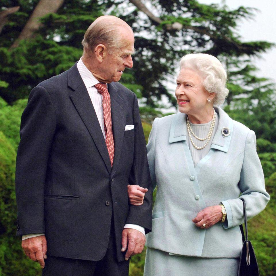 Prinz Philip (†99) und Queen Elizabeth