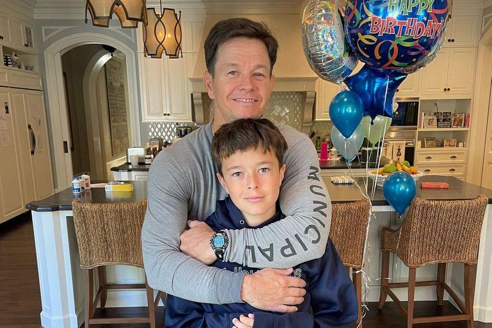 Familienbande: Mark Wahlberg feiert den Geburtstag seines Sohnes