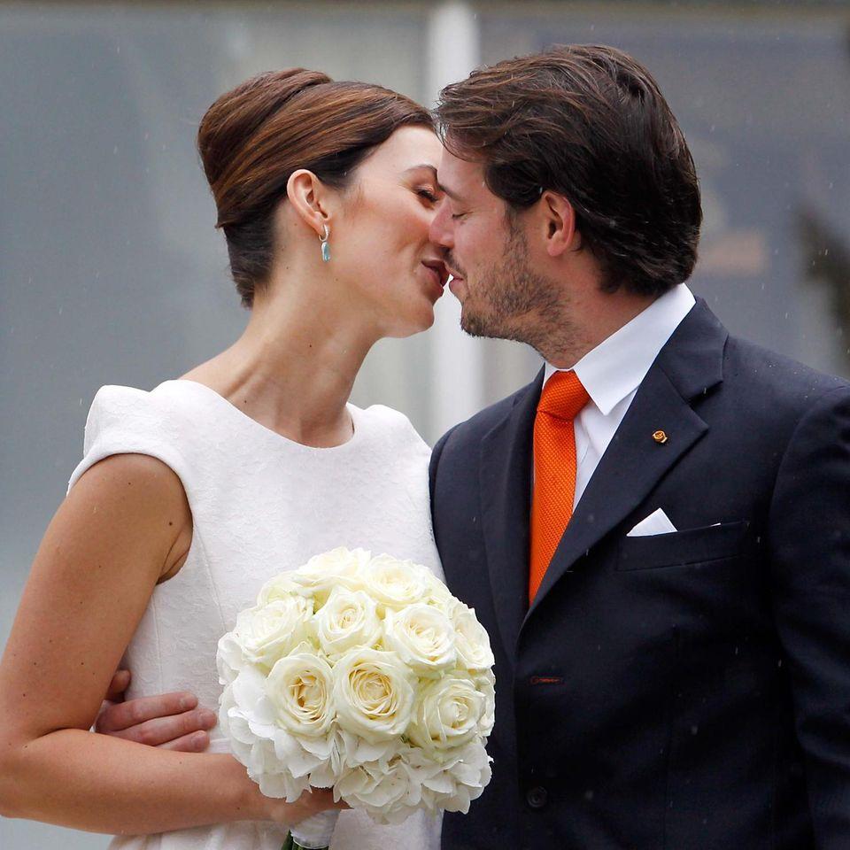 Prinz Félix von Luxemburg und Prinzessin Claire